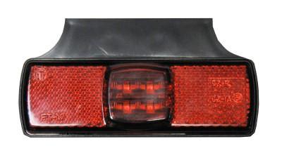 Led Winkel Umrissleuchte - Positionsleuchte Rot 12-30V