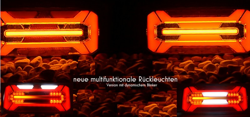 5 Stücke BEGRENZUNGLEUCHTE 12 V 6 LED LAMPE LEUCHTE WEISS LKW PKW ANHÄNGER