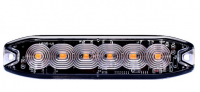 _ LED Blitzleuchte Warnleuchte Strobo Gelb12-24V