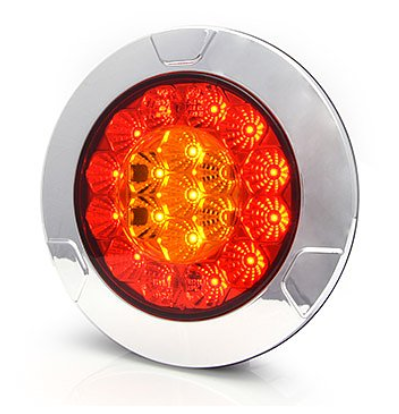 LED 3-Funktion 12V/24V Einbau/Aufbau Leuchte