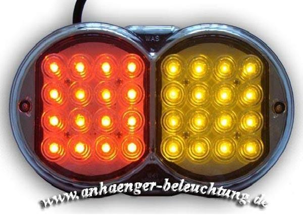 LED 3-Funktions Leuchte mit Widerstand für Blinklicht