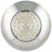 _ LED Rund Innenleuchte Chrom 24V
