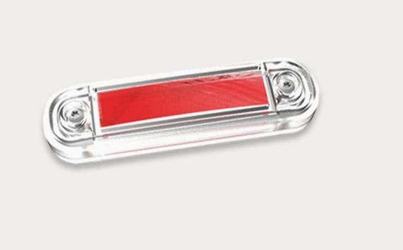 LED-Markierungsleuchte Rot 12V/30V