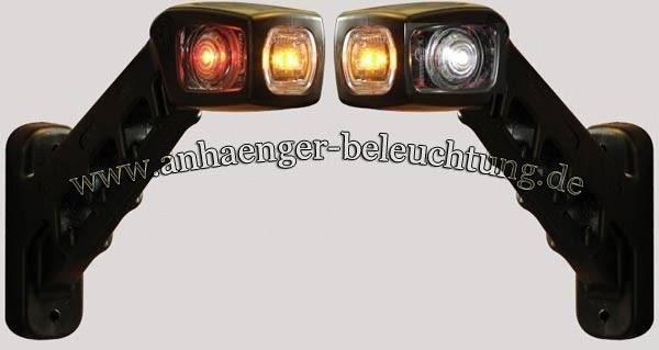 LED Begrenzungsleuchten, Seitenmarkierungsleuchte Paar