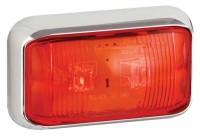_ LED Positionsleuchte Umrissleuchte Rot 12V/24V