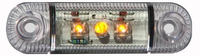 Seitenleuchte Led Gelb: Einsetzbar von 12V bis 24V