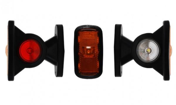 LED Begrenzungsleuchte Markierungsleuchte Gelb 12-24V