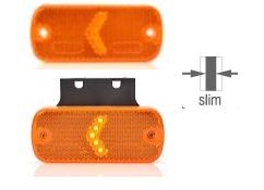 LED Seitliche Umrissleuchte mit/ohne Halter 12-24V
