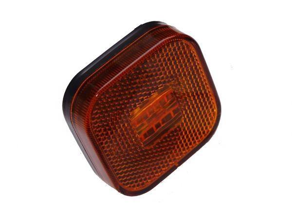 LED Seitenmarkirungsleuchte Gelb Seitenleuchte Reflektor