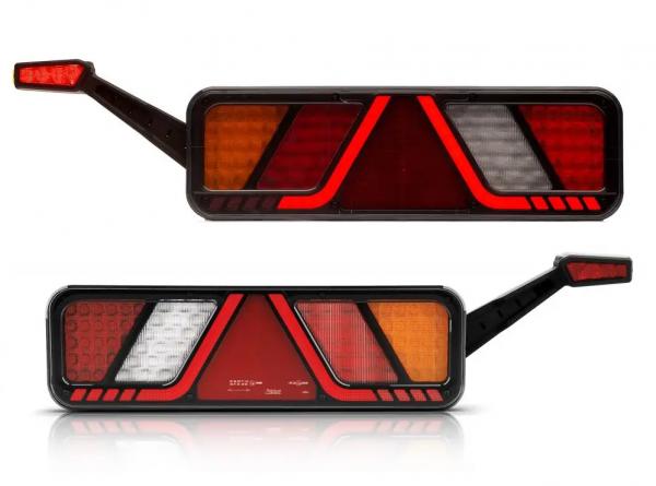 LED 7 Funktion Lkw Anhänger Rückleuchten 24V