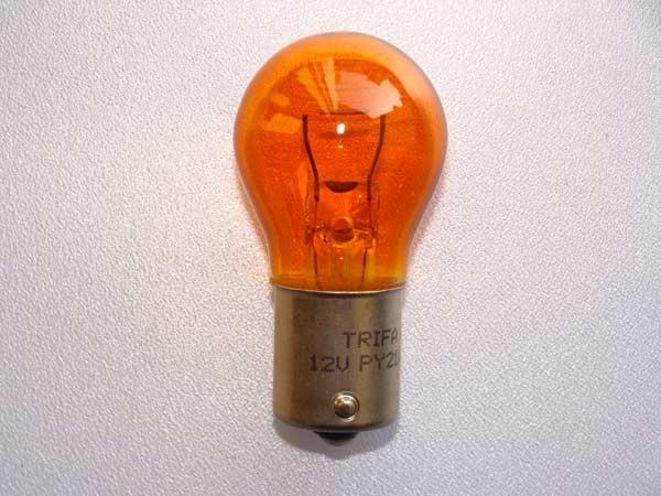 12V PY21W Glühlampen Gelb BAU 15s