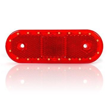 Markierungsleuchte Rot mit Reflektor 12-24 Volt