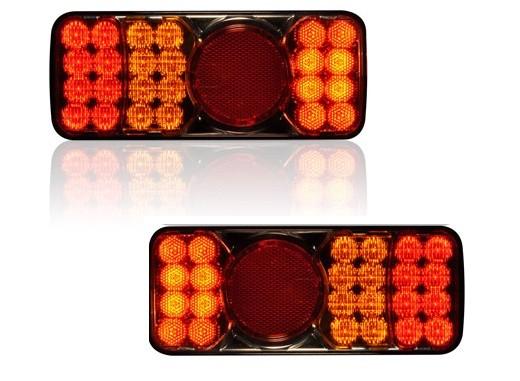 LED Rückleuchten mit Nebel beide Seiten (Paar)