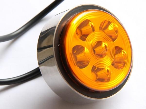 Led Blinkleuchte, hinten 68mm 12-24V