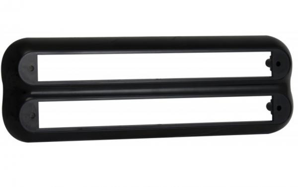 Schwarz - Oberfläche Halterung, Leuchten Serie 237,53mm