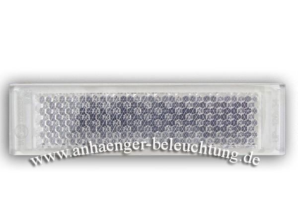 Strahler, Weiß zum Aufkleben 34x126x7mm