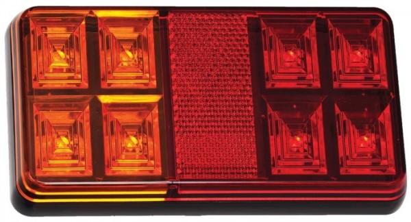 LED Rückleuchten 3-Funktion 150x80mm 12V, Paar