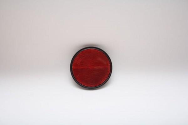 Reflektor Rot von Radex mit Aufkleber 60mm