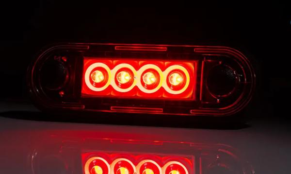 Hintere Positionslicht LED-Technik mit Unterlagen 12-36V