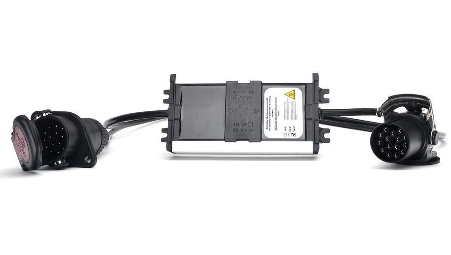 led adapter lkw 15 pol stecker steckdose 24v anhaenger. Black Bedroom Furniture Sets. Home Design Ideas