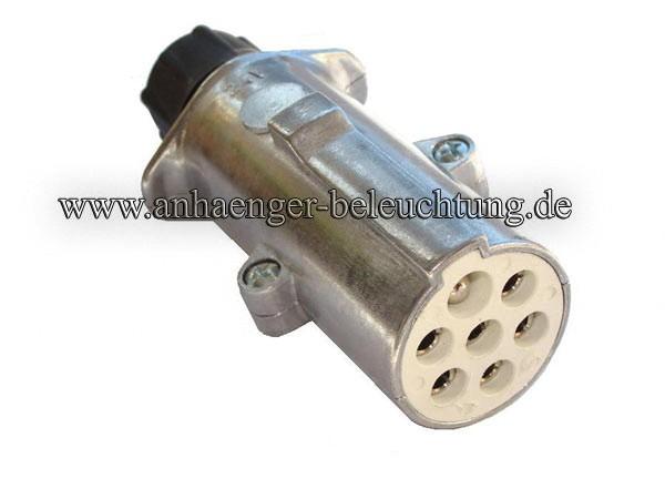 Stecker 24V 7 Pol. mit Kontaktstift Typ S