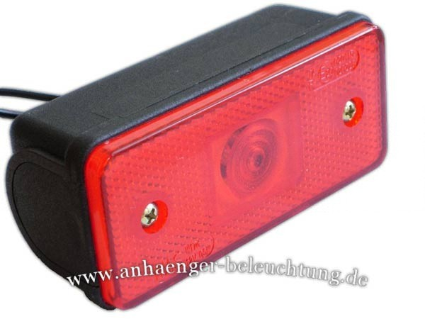 LED Positionsleuchte Rot