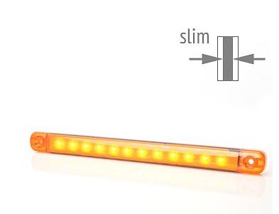 LED Seiten Umrissleuchte-Markierungsleuchte 12-led Gelb