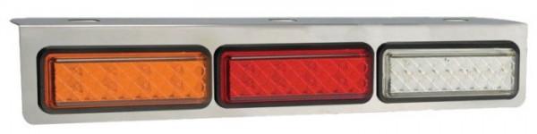 Dreifach Verchromt Halterung für Leuchten Serie 135mm