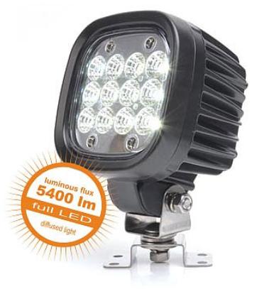 Arbeitsscheinwerfer 12 LED 5400lm 10-35V flood