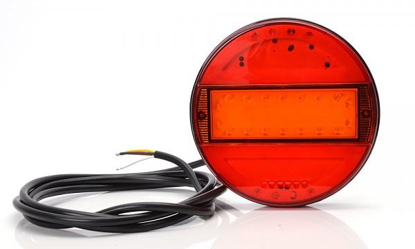 LED 3-Funktion Milchglas Leuchte 140mm- SLIM 9V-36V