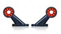 _ LED Begrenzungsleuchten rot-weiß 12V-24V-1