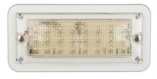 Innen Rechteckige Leuchte weiß LED 12V