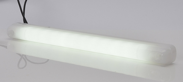 LED Stab Begrenzungsleuchte Neon-Effekt Weiß 12V-24V