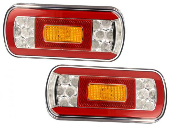 NEON Universal 6 Funktion LED-Leuchten 12/36V (Paar)