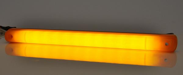 LED Stab seitliche Leuchte Neon-Effekt Gelb 12V-24V