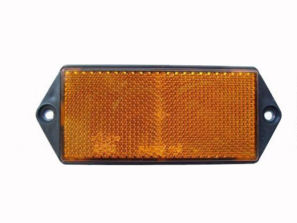 RADEX Rechteckiger, Reflektor Gelb, 127x50x7mm