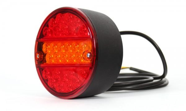 LED Rückleuchte mit Widerstand für Blinklicht