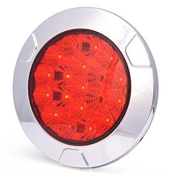 Led Rücklicht-Bremslicht 12V-24V Einbau-Aufbau