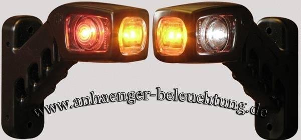 LED Begrenzungsleuchten, Seitenmarkierungsleuchte am Gummiarm