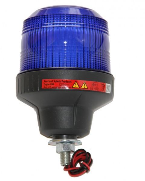 Blaulicht Warnleuchte Xenon 12/24V mit Schraube
