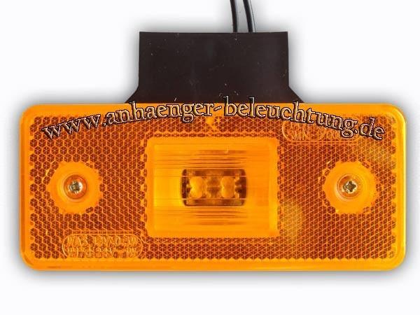 LED-Seitenmarkierungsleuchte mit Befestigungswinkel