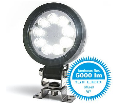 LED Arbeitsscheinwerfer Arbeitslicht 5000 lm 12-70V