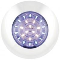 _ LED Rund Innenleuchte blau - Weiß 12V