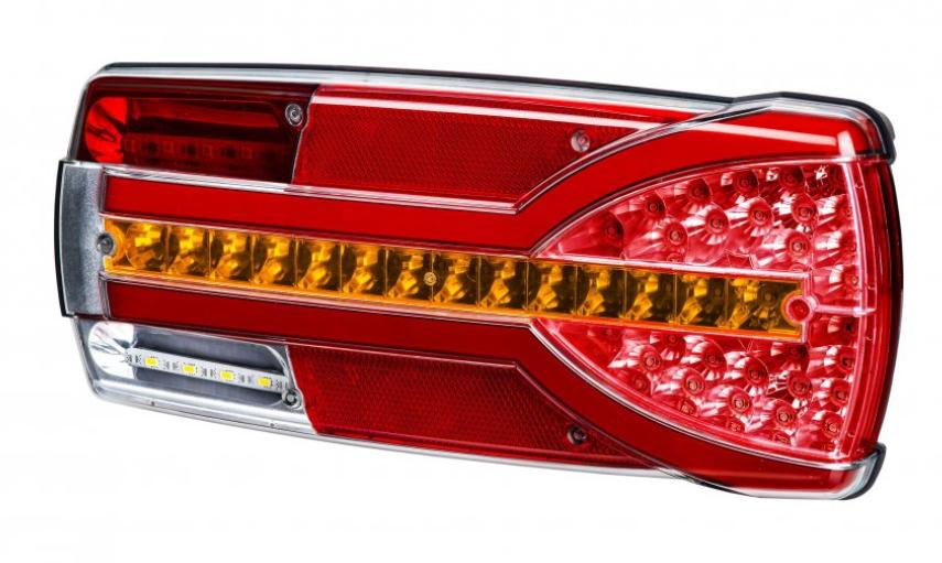 High Quality LED NEON Rückleuchte Rechts LKW Mit Dynamischem Blinker | Anhaenger  Beleuchtung