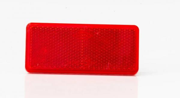 Reflektor Rot zum Aufkleben 94 x 44mm