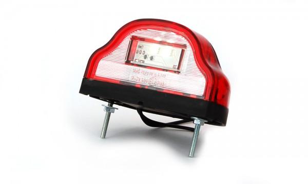 LED Kennzeichenleuchte mit Markierungsleuchte Rot