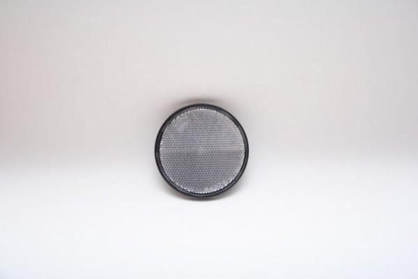 Reflektor Weiß von Radex mit Aufkleber 60mm