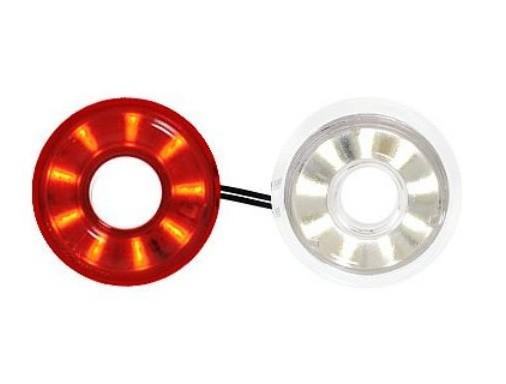 LED Ersatz Elektronik rot-weiß 12V-24V