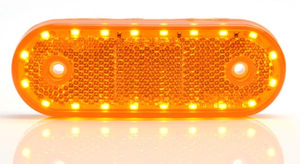LED Seitenmarkierungsleuchte mit Blinker Funktion 12-24V