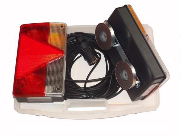 Magnet Rückleuchten-Set BOX mit Kabel